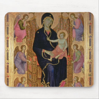 Madonna and Child (Rucellai Madonna) 1285 (tempera Mouse Pad