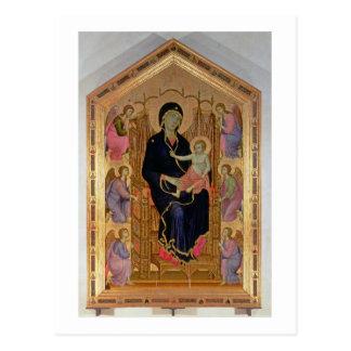 Madonna and Child (Rucellai Madonna) 1285 (tempera Postcard