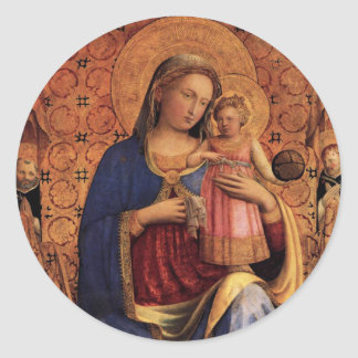 Madonna and Child sticker