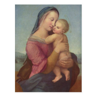 Madonna and Child (The Tempi Madonna) by Raphael Postcard