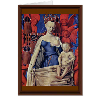 Madonna And Child [Virgin With Child And Angels] ( Card