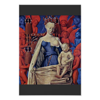 Madonna And Child [Virgin With Child And Angels] ( Poster