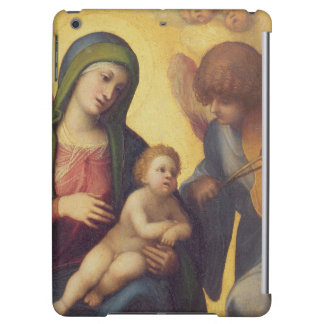 Madonna and Child with Angels c.1510-15 (oil on pa iPad Air Cases