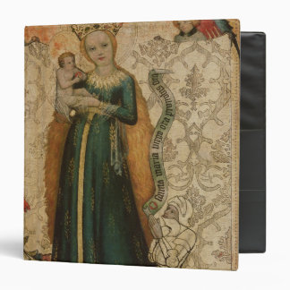 Madonna and Child with Ears of Corn, 1440-50 3 Ring Binder