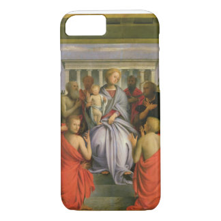 Madonna and Child with Eight Saints, 1520s (temper iPhone 7 Case