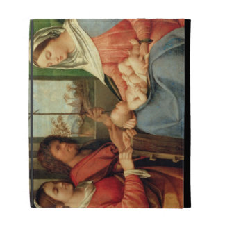 Madonna and Child with Saints 2 iPad Folio Cover