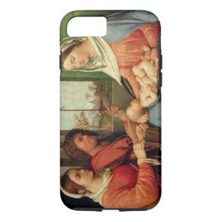 Madonna and Child with Saints 2 iPhone 7 Case