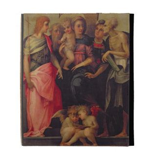 Madonna and Child with Saints, c.1518 (oil on pane iPad Cases