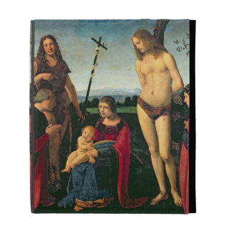 Madonna and Child with SS. John the Baptist and Se iPad Folio Cover