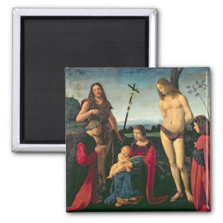 Madonna and Child with SS. John the Baptist and Se Magnet