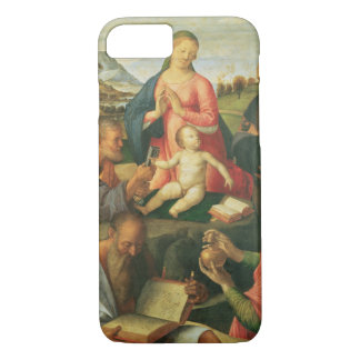 Madonna and Child with SS. Peter, Jerome and Mary iPhone 7 Case