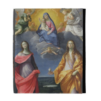 Madonna and Child with St. Lucy and Mary Magdalene iPad Cases