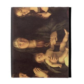 Madonna and Child with St. Mary Magdalene and St. iPad Folio Cover