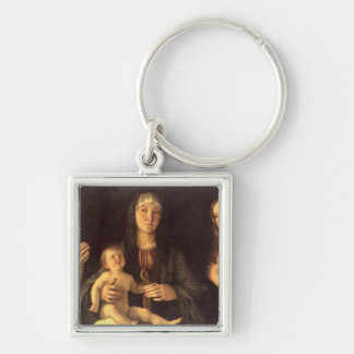 Madonna and Child with St. Mary Magdalene and St. Keychain