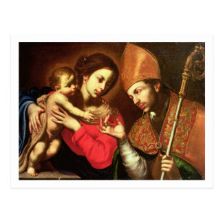 Madonna and Child with St. Zenobius Postcard