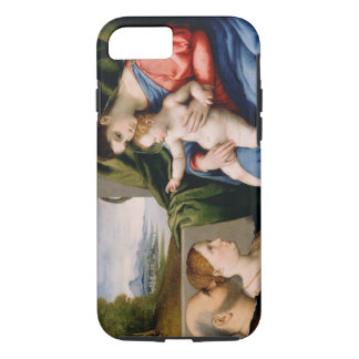 Madonna and Child with the Infant Saint John iPhone 7 Case