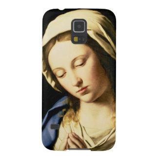 Madonna at Prayer (oil on canvas) Galaxy S5 Covers