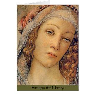 Madonna - Botticelli Card