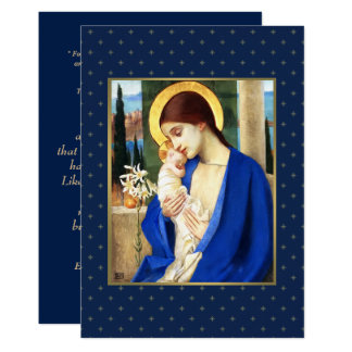 Madonna by Marianne Stokes. Christmas Cards