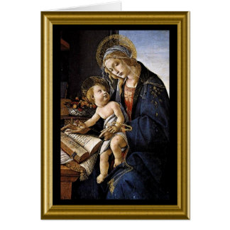 Madonna & Child Christmas Card