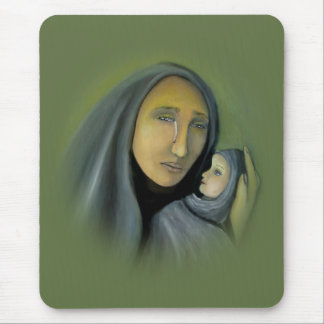 Madonna & Child Christmas Mouspad Mouse Pad