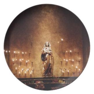 Madonna & Child Plate