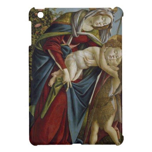Madonna, Child, St John the Baptist by Botticelli Case For The iPad Mini