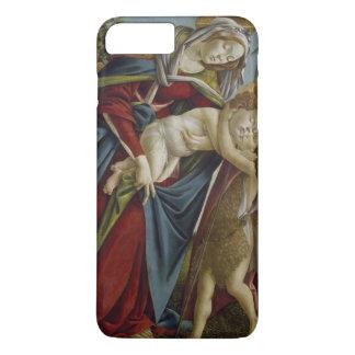 Madonna, Child, St John the Baptist by Botticelli iPhone 7 Plus Case