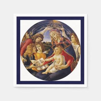 Madonna del Magnificat Disposable Napkins
