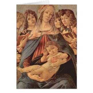 Madonna della Melagrana by Botticelli Card