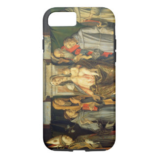 Madonna Enthroned, 1480 (oil on panel) iPhone 7 Case