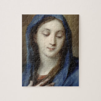 Madonna from the chapel (pastel on paper) jigsaw puzzle