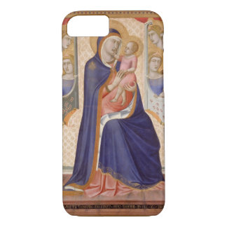 Madonna in Glory, c.1315 (tempera on panel) iPhone 7 Case