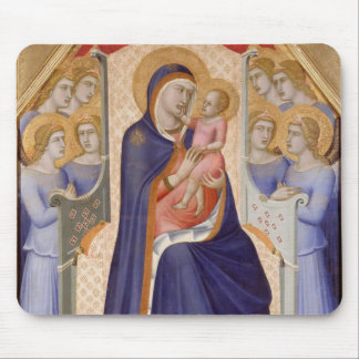 Madonna in Glory, c.1315 (tempera on panel) Mouse Pad
