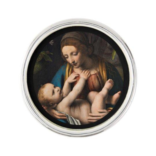 Madonna med  Kristusbarnet Lapel Pin