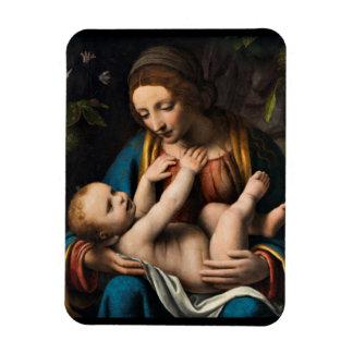 Madonna med  Kristusbarnet Magnet