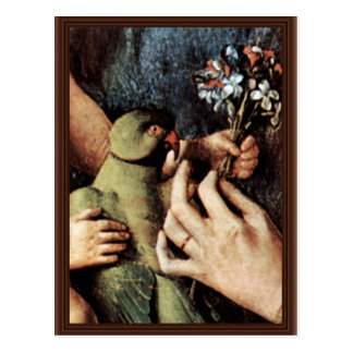 Madonna Of Canon George Van Der Paele Details: Dov Postcards