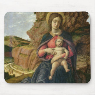 Madonna of the Cave, 1488-90 (tempera on panel) Mouse Pad