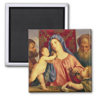 Madonna of the Cherries with Joseph Magnet