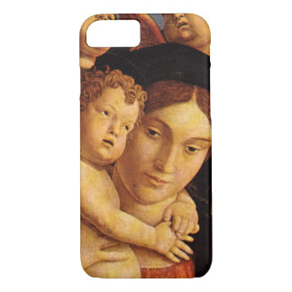 Madonna of the Cherubim by Andrea Mantegna iPhone 7 Case