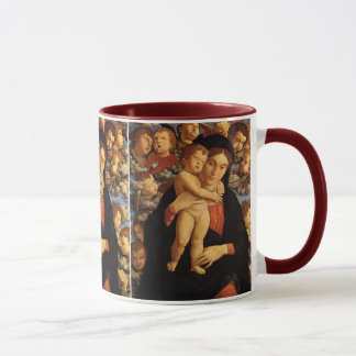 Madonna of the Cherubim by Andrea Mantegna Mug