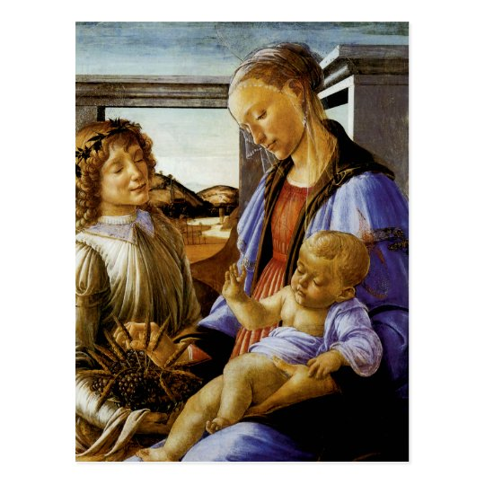 Madonna of the Eucharist Postcard
