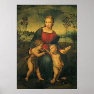 Madonna of the Goldfinch Raphael Renaissance Art Print