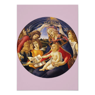 Madonna of the Magnificat by Botticelli Card