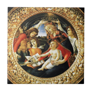 Madonna of the Magnificat Tile