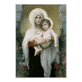 Madonna of the Roses Poster