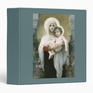 Madonna of the Roses Vinyl Binder