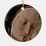 Madonna of the Shadows Christmas Ornament