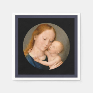 Madonna with Christ Child Paper Napkin