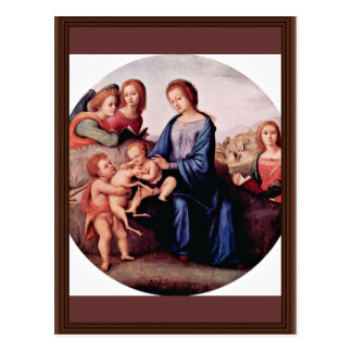 Madonna With John The Baptist, St. Margaret And Postcard